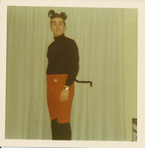 Pat as Mickey Mouse