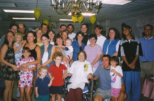 Grandma Ruth & the Grandchildren 1998