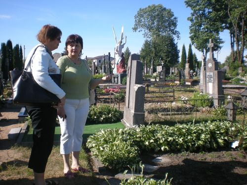 The Cemetery At Silale