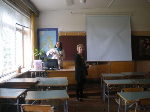 My Cousin Virginija's Classroom